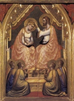 Giotto: Coronation of Virgin