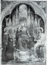 Lupis presented to the Virgin