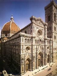 an analysis of the duomo of florence cathedral church Florence's central square, the piazza del duomo, characterized by its  multicolored marble facades, is getting spruced up this summer  galleries  auctions art fairs analysis  the basilica di santa maria del fiore, the  florence cathedral  the basilica is the city's main church, known for its  impressive.
