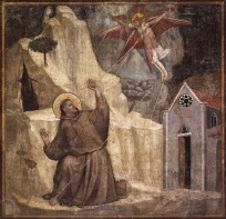 Giotto Fresco of St Francis in Santa Croce