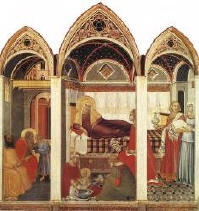 P Lorenzetti Birth of the Virgin
